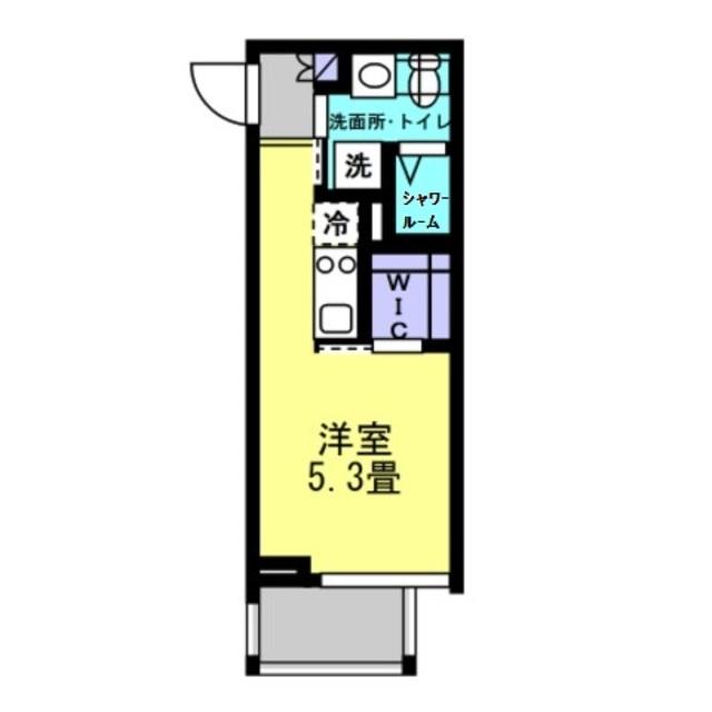 洋室5.3帖