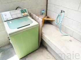 共用の洗濯スペースです!