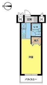 スカイコート戸田公園第32階Fの間取り画像