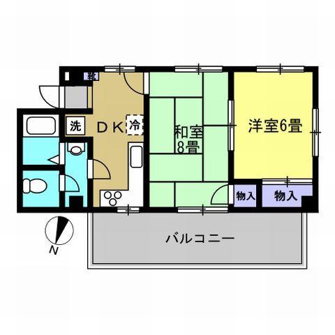 DK6帖・洋室6帖・和室8帖