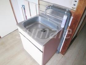 共同の洗面台です☆