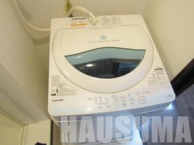 洗濯機も付いています!