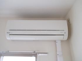 なんと全室にエアコンが完備されています!