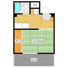 キッチン広めの1Kのお部屋です!