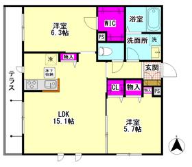 仮)大田区萩中3丁目シャーメゾン 102号室