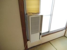 エアコン完備のお部屋です!