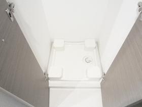 室内洗濯機置場付きです