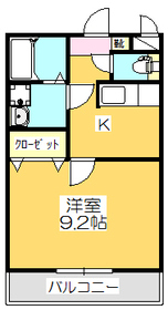 1K 31.74平米 4.3万円 香川県丸亀市山北町