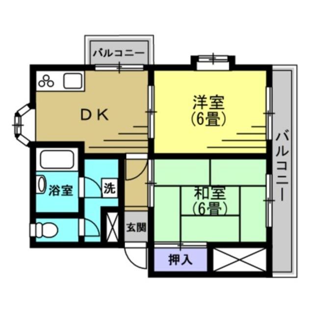 DK6帖・洋室6帖・和室6帖