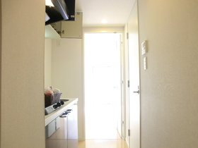 1Kタイプなので居室の扉あります!