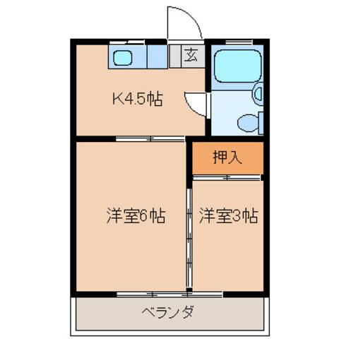 洋室6 洋室3 キッチン4,5