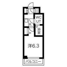 スパシエヒルズ横浜妙蓮寺2階Fの間取り画像