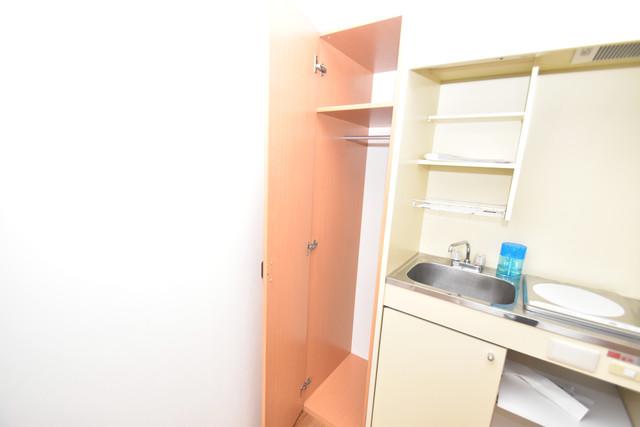シティーコア高井田Ⅱ もちろん収納スペースも確保。いたれりつくせりのお部屋です。