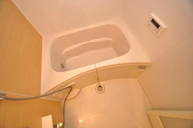 プロシード巽 広めのお風呂は一日の疲れを癒してくれます。