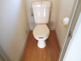 独立したトイレです!