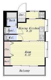 マンションシバタ 405号室