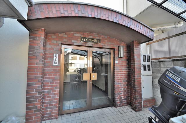 ハイツ片岡Ⅱ 高級感がある広いエントランスがあなたを出迎えてくれます。
