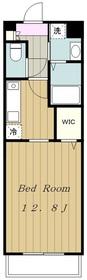 デリス相模が丘4階Fの間取り画像