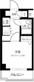 綱島駅 徒歩8分3階Fの間取り画像