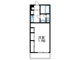 リブリさがみ野Ⅱ3階Fの間取り画像