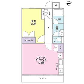 武蔵中原駅 徒歩17分3階Fの間取り画像