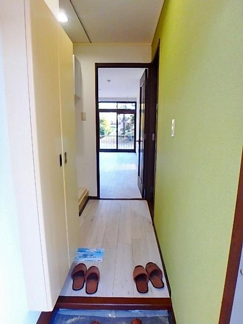 サンハイツI玄関