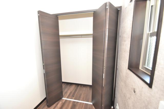 ラージヒル長瀬WEST もちろん収納スペースも確保。いたれりつくせりのお部屋です。