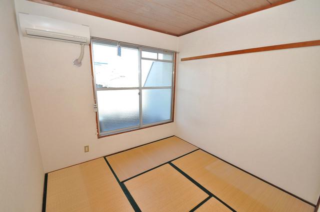 ニューハイツアサヒ もうひとつのくつろぎの空間、和室も忘れてません。