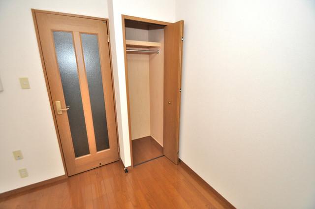 エスティームⅠ番館 もちろん収納スペースも確保。いたれりつくせりのお部屋です。