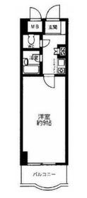 ホワイトガーデン東田2階Fの間取り画像