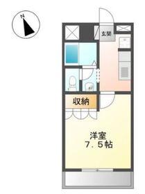 ミキハウス1階Fの間取り画像