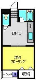 クレインズビュー3階Fの間取り画像