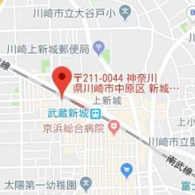 シュロス武蔵新城案内図
