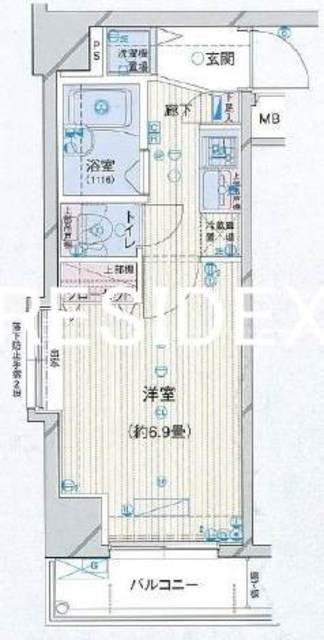 水天宮前駅 徒歩4分間取図