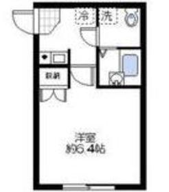 キートス横浜1階Fの間取り画像