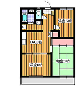 成増駅 徒歩25分5階Fの間取り画像