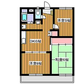 西高島平駅 徒歩10分5階Fの間取り画像