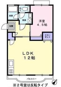 シャラ原宿Ⅰ3階Fの間取り画像