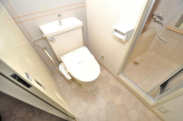 カーサノベンタ 白くてピカピカのトイレですね。癒しの空間になりそう。