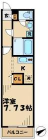 リブリサンセリテ21階Fの間取り画像