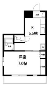 エース桜台3階Fの間取り画像