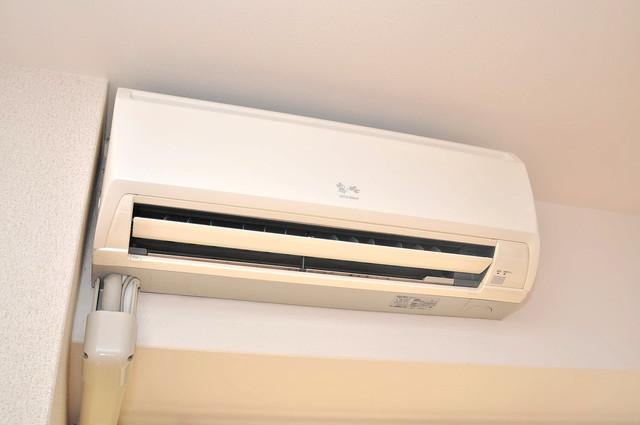 プラ・ディオ徳庵セレニテ うれしいエアコン標準装備。快適な生活が送れそうです。