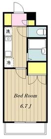 海老名駅 徒歩11分4階Fの間取り画像