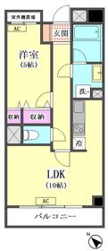 協和ビル(南向きバルコニー) 503号室