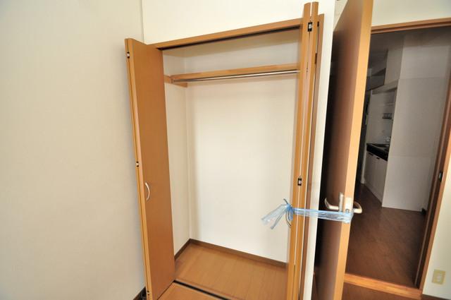 フレンディー もちろん収納スペースも確保。いたれりつくせりのお部屋です。