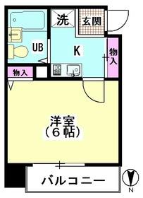 クレッセント梅屋敷 403号室
