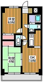 東武練馬駅 徒歩17分7階Fの間取り画像