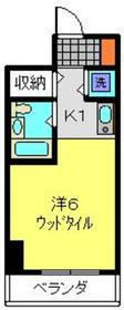 横浜南ガーデン7階Fの間取り画像