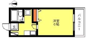 ユアハウス1階Fの間取り画像