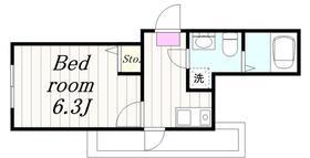 二俣川駅 徒歩7分3階Fの間取り画像